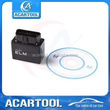Newest arrival MINI ELM327 Bluetooth OBD2 V 2.1 black Smart Car Diagnostic Interface ELM 327 Wireless Scan Tool
