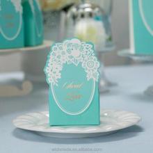 New Arrival Elegant Candy Box Wedding Favor Box Designer Box CB002 Matching with Invitation CW002