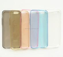 transperent mobil TPU phone case,can custom any logo