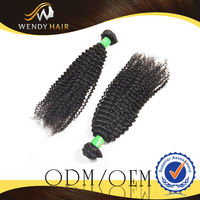 Wholesale Alibaba China Afro Durable Double Weft Shedding Free Hair Extension Brazilian Kinky Curly