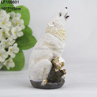 wolf for sale/resin wolf statues/resin wolf figurine