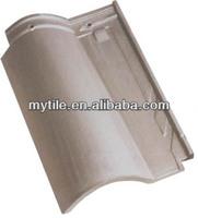 Grey Glazed Clay Roman Roof tile price
