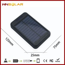 Hot sell 2USB Solar charger 20000mAh solar power bank High energy solar mobile power