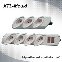 ABS Plastic Material Electrical Extension Plug And Window Socket