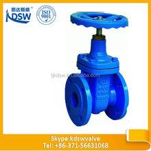 DIN 3352 cast iron non rising stem gate valve