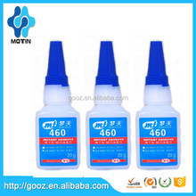 Low odor/ low bleaching Motin 460 Alkyl group instant adhesive glue with low viscosity 20g