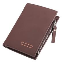 Wholesale Young Man Short Zipper Wallet Coin Purse Wallet SV019143