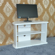 Luxury classic new style italian antique white tv stand