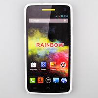 Cheaper gel Tpu Mobile Phone Case For Wiko Rainbow