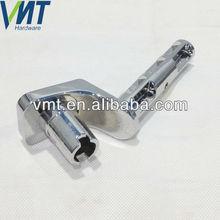 odm a medida de aluminio de fundición a presión de la motocicleta de freno de pie del pedal