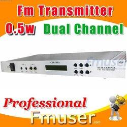 18FSN Dual Channel fm transmitter 0.5w usb fm transmitter car