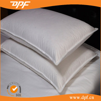 Double stitching hotel duck down pillow