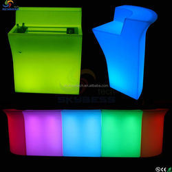 new products on china market glow bar counter led furniture lighting