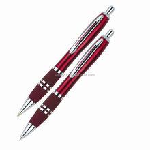 Popular blue ink metal ball pen+Mechanical pencil 2435