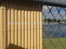 19mm PVC Simple Face Fence Size 1.2x3m Bamboo