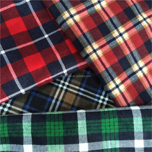 trade assurance wholesale tartan plaid flannel fabric
