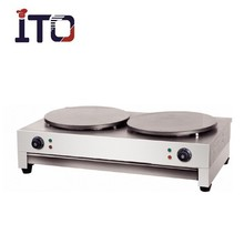 SH-CM2 Commercial Electric Crepe maker ( 2 Plate/Head )