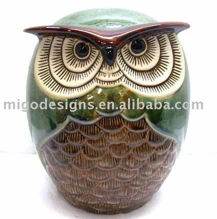 keramik eule dekoration zu hause andere h usliche dekoration produkt id 341426498. Black Bedroom Furniture Sets. Home Design Ideas