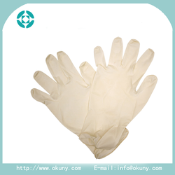 High qulity powder free surgical latex gloves