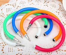 promotional original plastic bracelet ball pen. new style multi-color bracelet ball pen