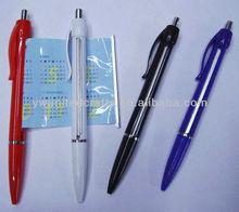 Useful Promotional Info Retractable Flyer Ballpoint Pen/Banner pen