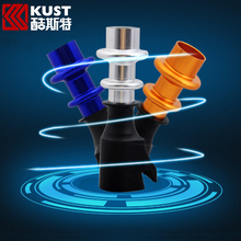 KUST Car Interior Accessories Aluminium Alloy Manual Gear shift Lever Knob For Cruze 2009 To 2014 For Chevrolet