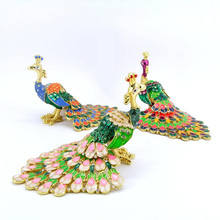 QF3234-003 China wholesale Arts and crafts peacock wedding souvenir gift items