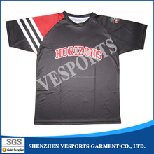 Cheap custom sublimation printing t-shirt