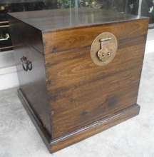 Chinese Antique Furniture Wooden Trunk