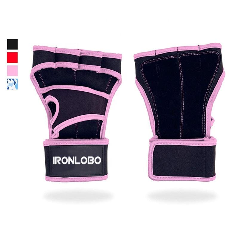 <span class=keywords><strong>Na</strong></span> Venda Rótulo Personalizado de Fitness Esporte Ginásio Luvas Sem Dedos