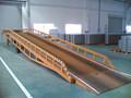 12000 kg móvel hidráulico container rampas de acesso