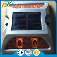 Solar powered Aluminum cat eye road stud light,road stud signal light