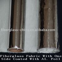 Fiberglass Fabric with One Side Coated with Aluminum Foil