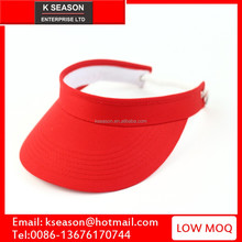 The Incredible Sun visor cap with elastic band closed, Available in Beautiful Solid Colors golf visor