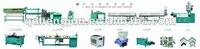 magnetic strip insertion line for refrigerator door gasket