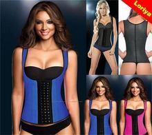 Low price Crazy Selling women 100% natural latex corset belt