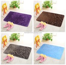New product fashion memory foam floor mat