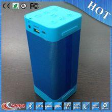 Black Mini USB Square sim card fm mini speakers