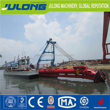 Julong 20 inch high capacity cutter suction sand dredger ship for sale