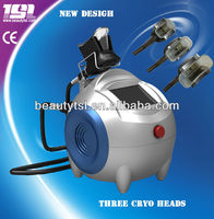 Hot Sale home use criolipolisis maquina,lowest temperature to -10,with 3 interchangeable cryo heads for fat burning