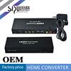 SIPU multi media hdmi to pbpr+vga converter box for projector