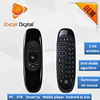 dual side keyboard 2.4G Gyroscope C120 T10 air mouse original factory