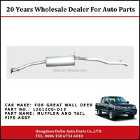 1201200-D13 Muffler And Tail Pipe Assy For Great Wall Deer Pickup