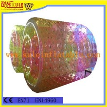 Outdoor giant inflatable roller tube Clear inflatable walking water ball