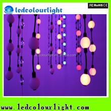 Shiny white christmas ornament balls led magic ball light for club, disco, dj