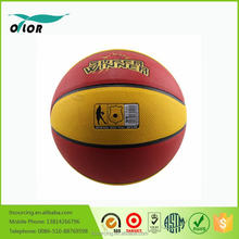 Offcial size PVC custom laminated 8 pannels basketballs
