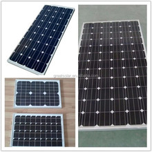 High quality low price solar energy system 255W mono solar panel PV modules