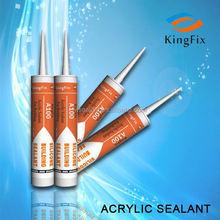 Fire-rated acrylic sealant,Fire-proof Acrylic Silicone Sealant,water based construction acrylic sealant