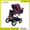 China Manufacturer New Product Deluxe Stroller for Baby Adjustable Handle Hight Baby Car with Foot Cover