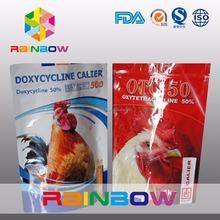 resealable stand up pet food pouch / pet food packaging for chicken